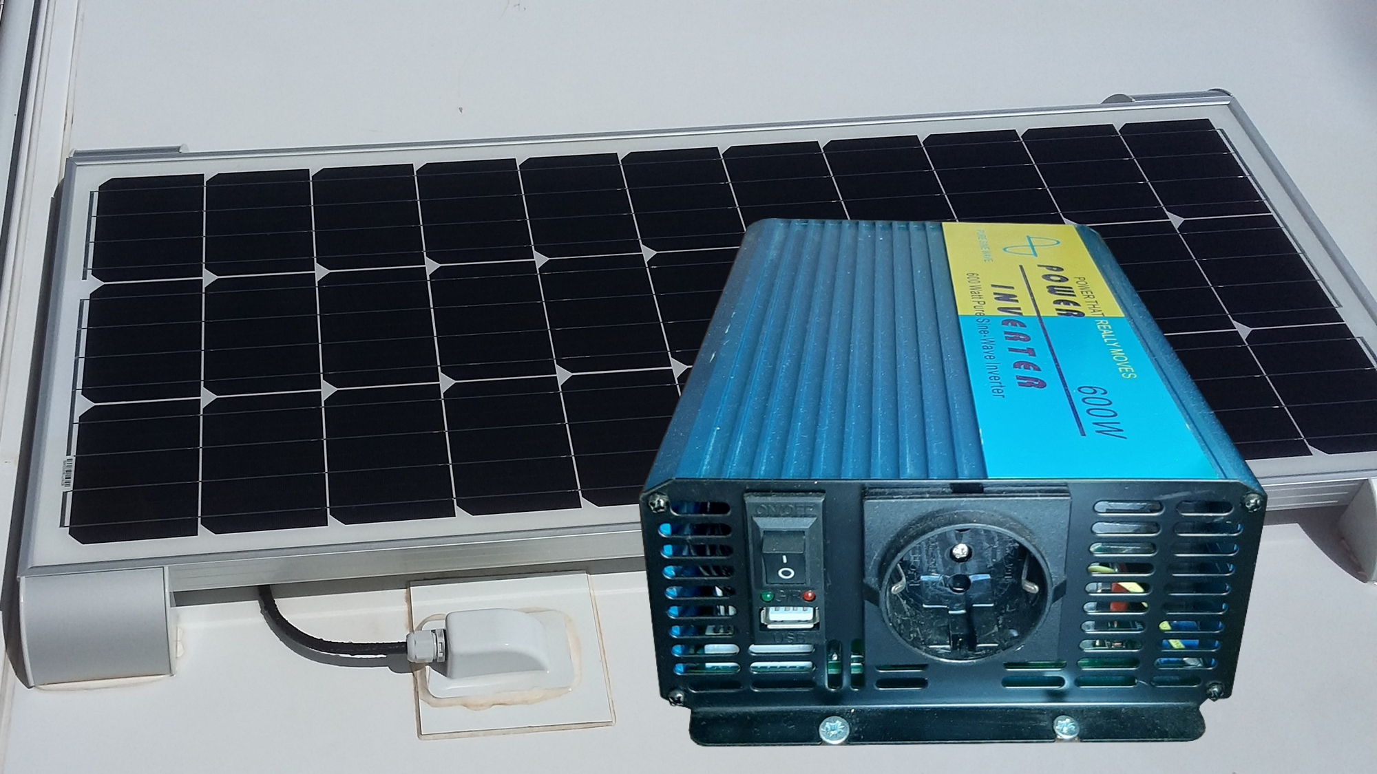 Solar Panel and Inverter